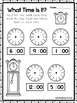 10 What Time Is It Worksheets. Draw the time on the Clocks