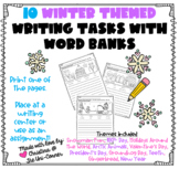 10 Winter Themed Writing Tasks With Word Banks