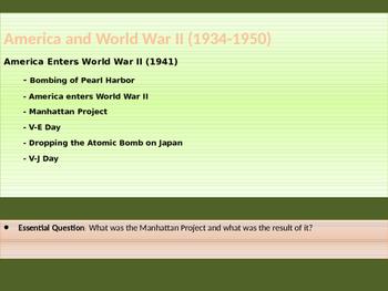 10. World War II - Lesson 2 of 5 - The U.S. Enters World War II