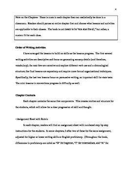Writing Workshop for Middle School: 10 Easy Narrative and Persuasive Assignments