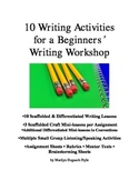 Writing Workshop for Middle School: 10 Easy Narrative and