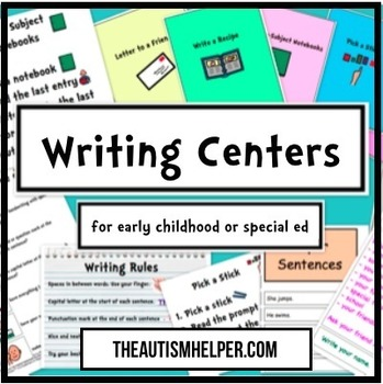 10 Writing Centers for Special Education
