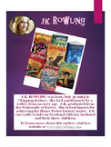 Author's Posters--Printed and Laminated
