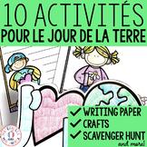 10 activités pour le Jour de la Terre (10 FRENCH Earth Day activities)