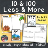 10 and 100 Less and More Activity- Animal Camouflage