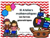 10 ateliers mathématiques les formes géométriques et ensem
