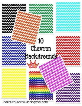 10 basic chevron backgrounds