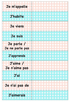 10 basic expressions to present yourself in French