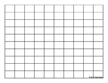 picture relating to 10x10 Grids Printable known as 10 By means of 10 Grid Worksheets Education Products Instructors Pay out