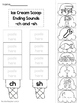 10-ch and -sh Ending Digraph Worksheets.  1st Grade Literacy Worksheets.
