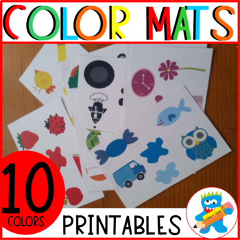 10 color cards