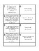 10 commandment Match up card game