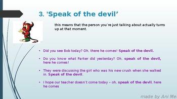 10 common idioms in English