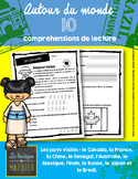 10 compréhensions de lecture (Autour du monde) / FRENCH RE