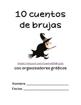 10 cuentos de brujas con organizadores gráficos