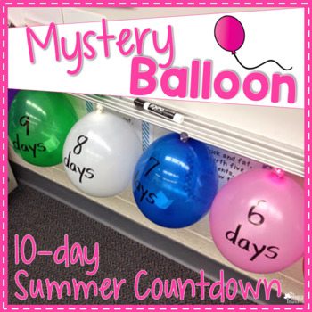 10-day Summer Balloon Countdown