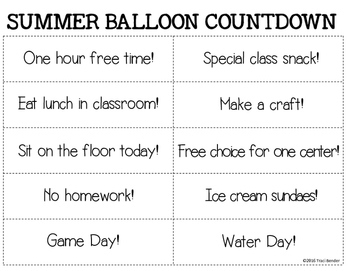 Mystery Balloon {A 10-day Summer Countdown}
