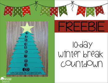 10-day Winter/Christmas Break Countdown