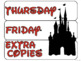 10 drawer cart labels - EDITABLE - Magical Theme