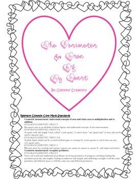 The Perimeter & Area of My Heart: A CCSS Math Edible Activ