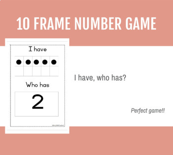 10 frame number game