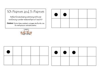 10-frames and 5-frames
