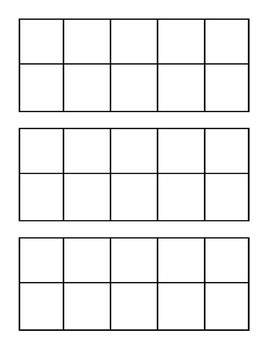 10 frames - blank