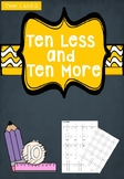 10 less and 10 more - Year 1 and 2