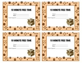 10 minutes free time coupon