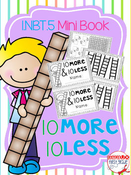 10 more and 10 less Mini Book