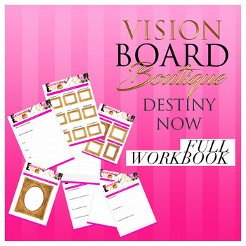 10 page Luxery DESTINY NOW's Workbook to help execute your DESTINY Now!!!