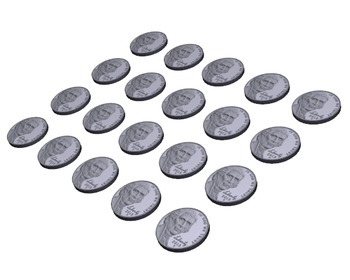 Pennies and Nickels - 3D Graphics for Whiteboards and Smartboards