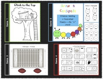 10 r-Controlled Vowel Activities & Games