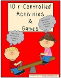 10 r-Controlled Syllable Activities & Games
