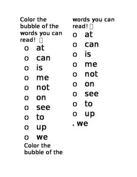 10 sight words