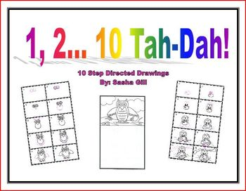 10 step directed drawings