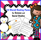 10 whole class Shared readings (Science/SS)