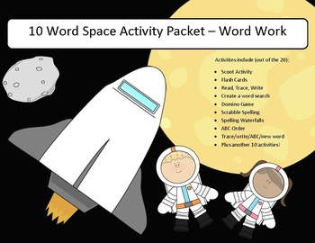 words associated with space