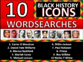 10 x Black History Month Famous People Icons Factsheets #4