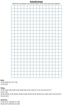 20 x Co-ordinate/ Graphing/ Ordered Pairs Cards & Worksheets