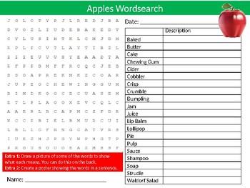 10 x Food Technology Wordsearches #1 Keyword Starters Settlers Wordsearch