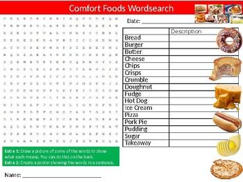 10 x Food Technology Wordsearches #13 Keyword Starters Settlers Wordsearch