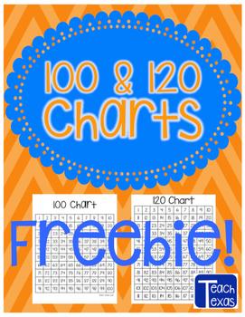 100 & 120 Charts FREEBIE