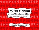 100 Acts of Kindness - Editable