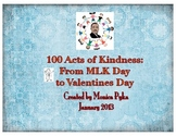 100 Acts of Kindness: From MLK Day to Valentine's Day