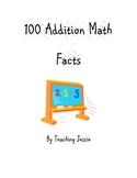 100 Addition Math facts