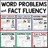 100 Addition & Subtraction Word Problems ~ Includes Bonus Questions!