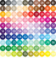 100 Apron Clip Arts in 100 Different Colors