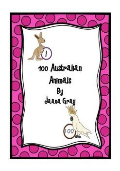 100 Australian animals