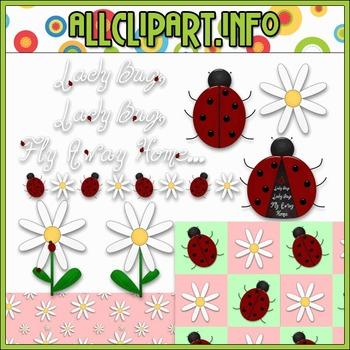 $1.00 BARGAIN BIN - Lady Bug, Lady Bug